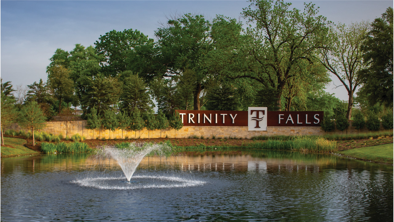 The pond at trinity falls homes for sale