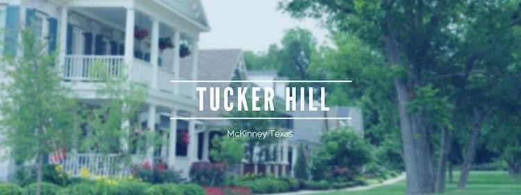 A beautiful walkway in Tucker Hill