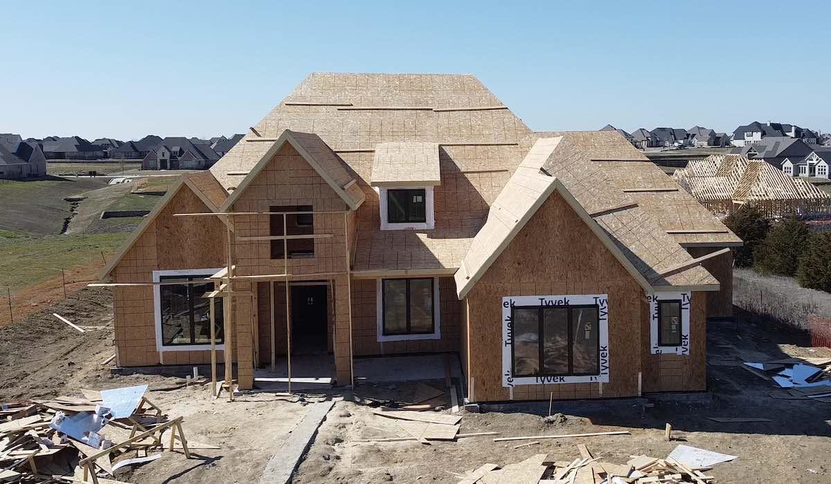 Building a new home in Prosper Tx