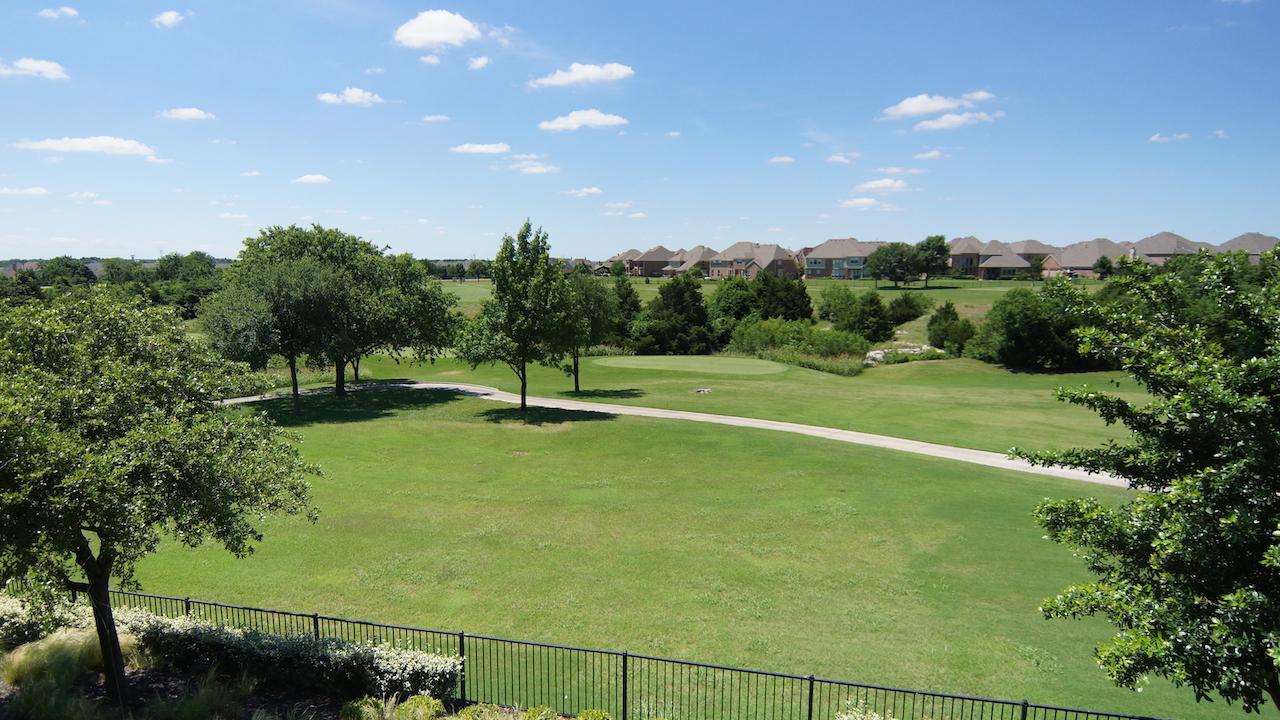Golf course homes in prosper tx