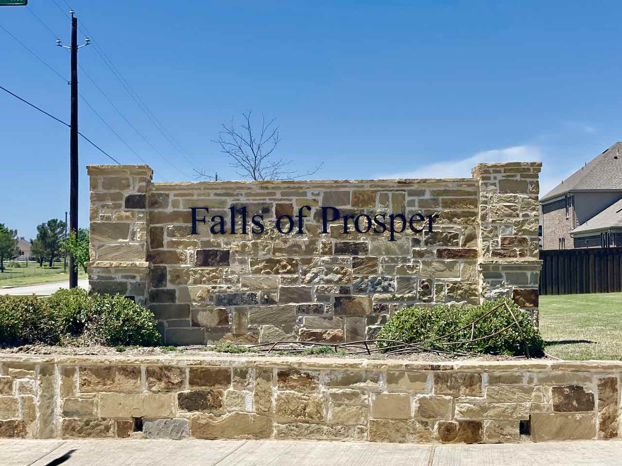Falls of prosper in prosper tx