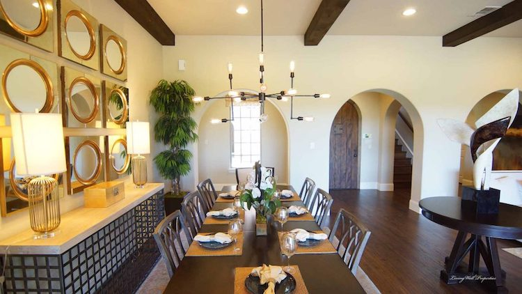 Darling Homes In The Fairways Dining Room