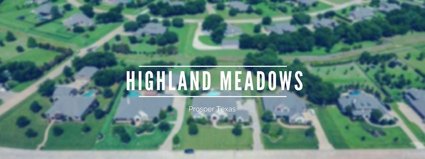 Highland Meadows in prosper tx