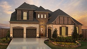 Britton Homes in Lakewood at Brookhollow