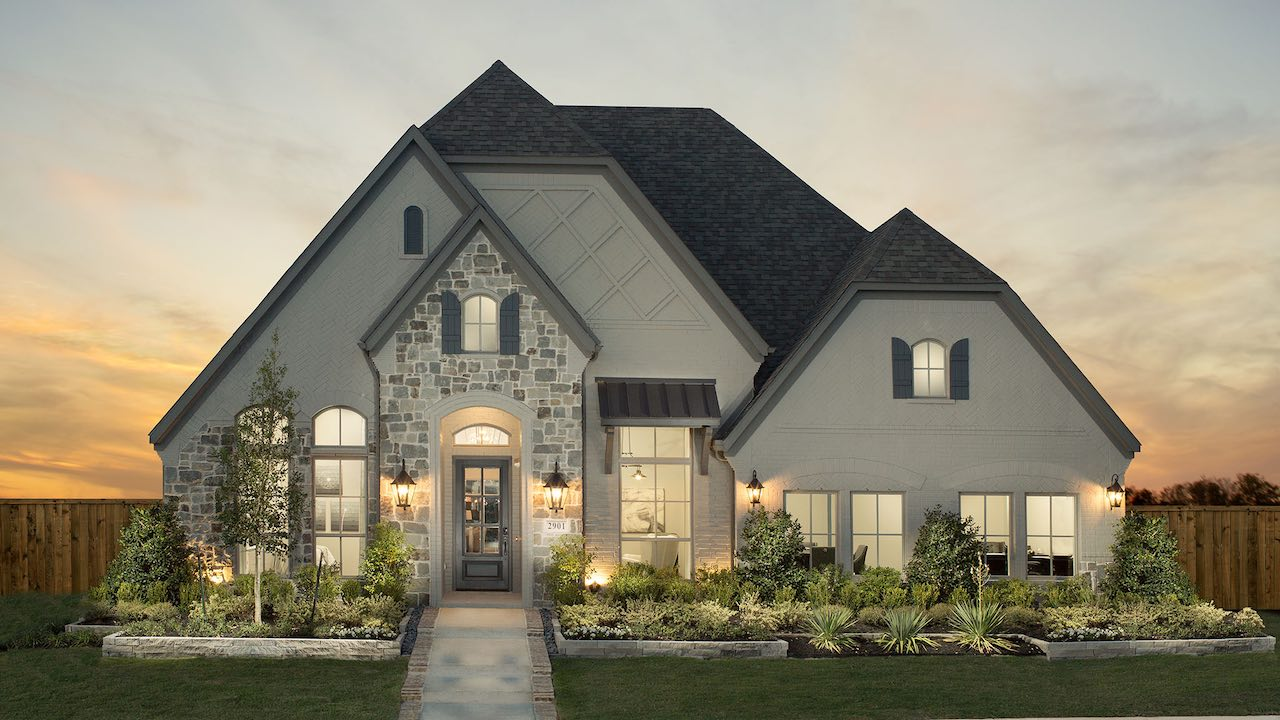 the britton model at lakewood - elevation