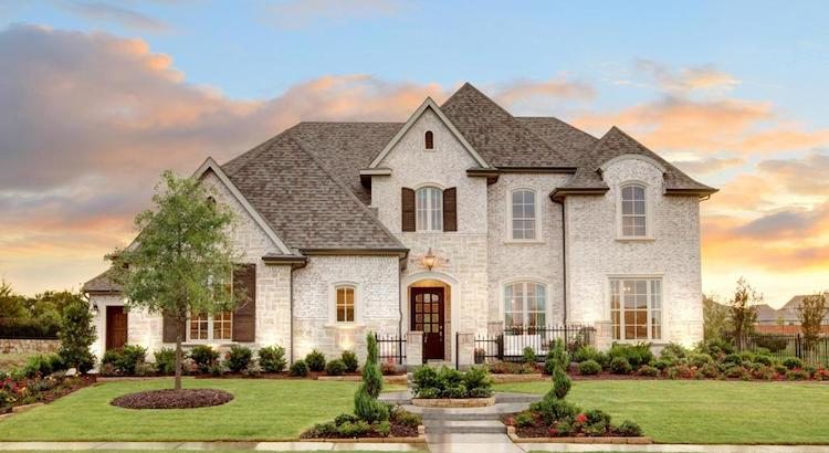 Drees Model Home Parkside Prosper Texas