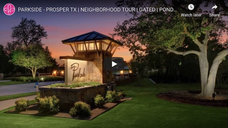 A video tour of parkside