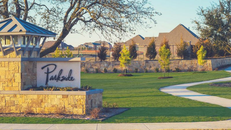 Gated Luxury Living at Parkside in Prosper Texas