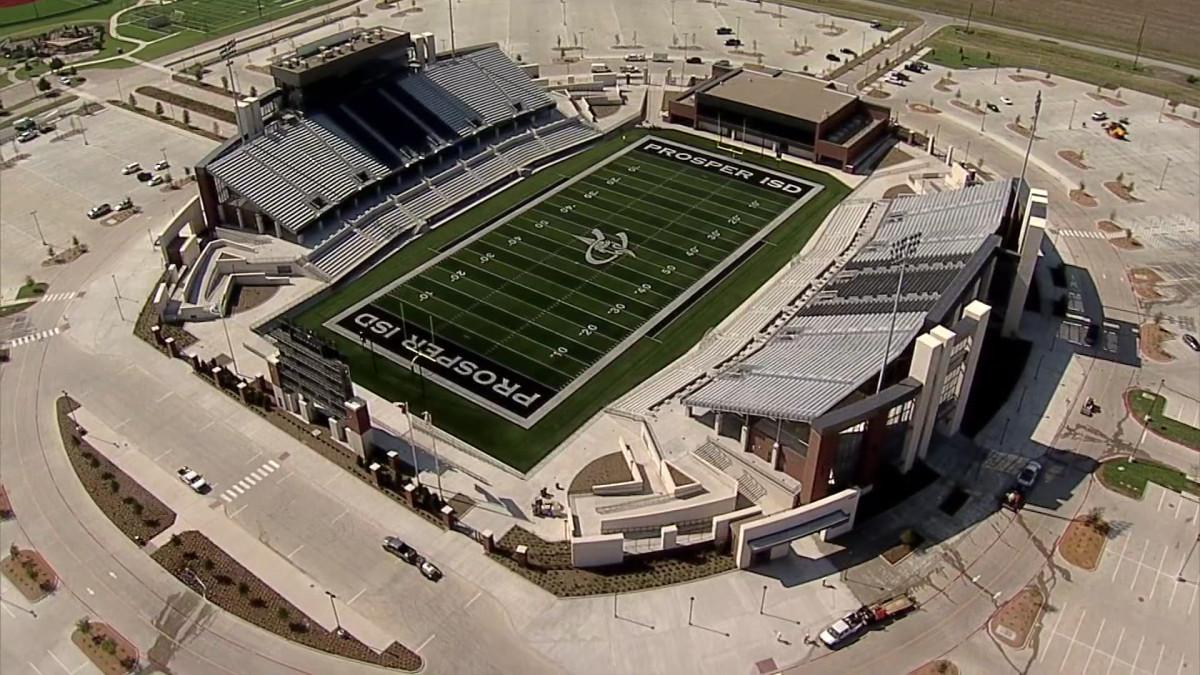 The Prosper ISD 48 million dollar stadium