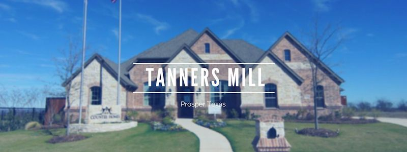 Tanners Mill in prosper homes for sale