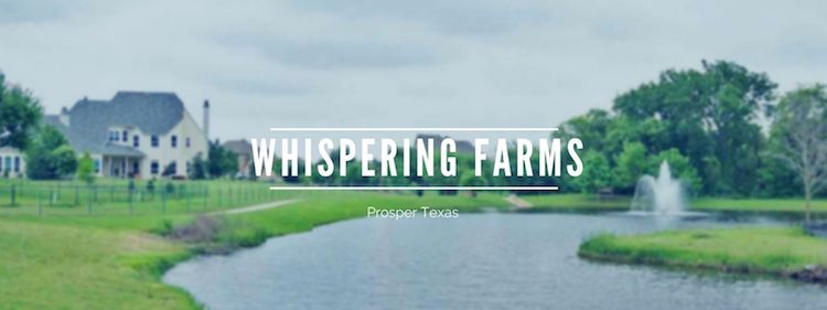 whispering farms homes for sale