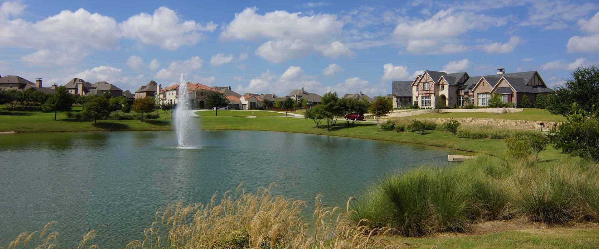 Homes for sale in Whitley Place along a pond