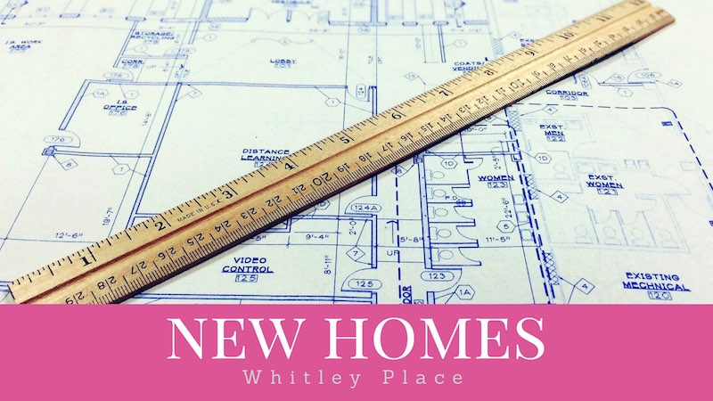 new homes in Whitley place for sale