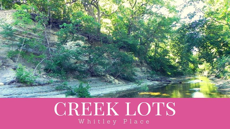 whitley place homes on the creek