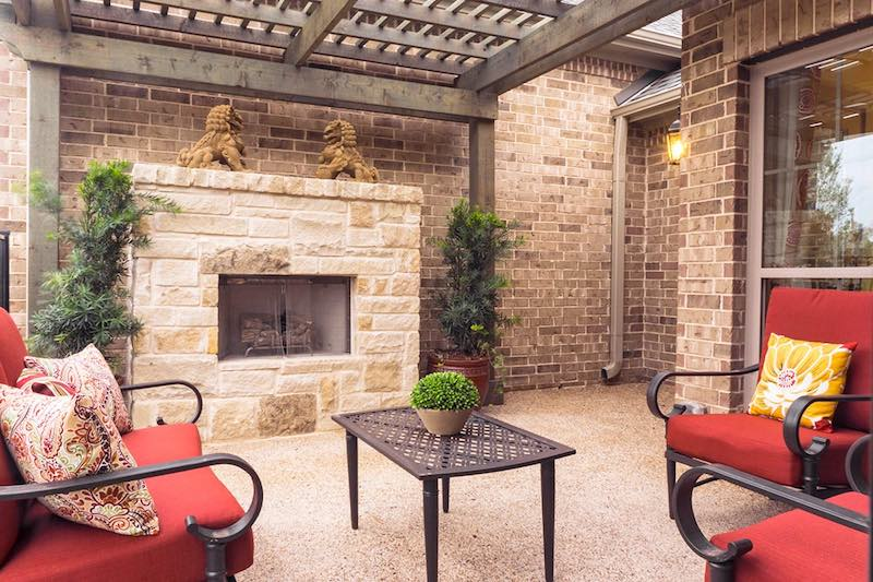 Windsong Ranch Townhome Patio