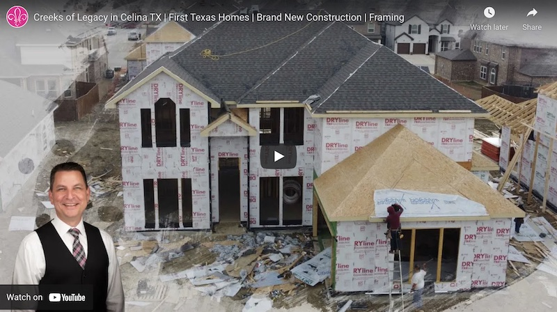 A video of a clients build job in prosper tx