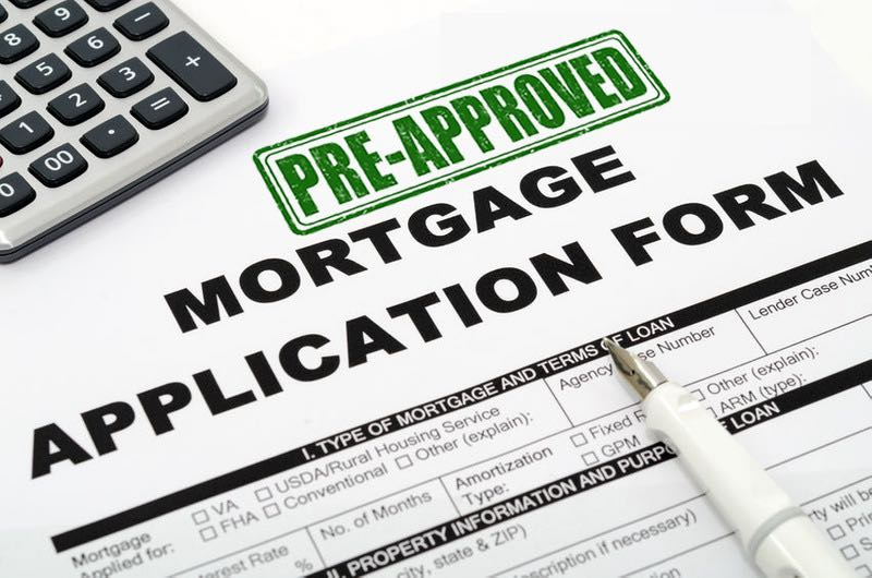 get a pre-approval before buying