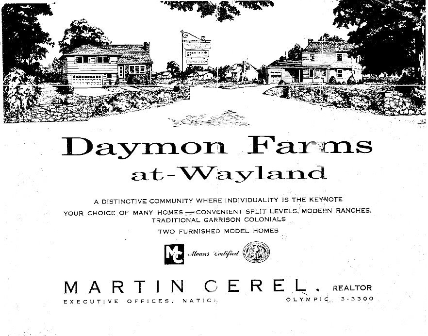 Daymon Farms Flyer - Front Page