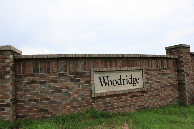 Entrance to Woodridge Subdivision Greenbrier AR