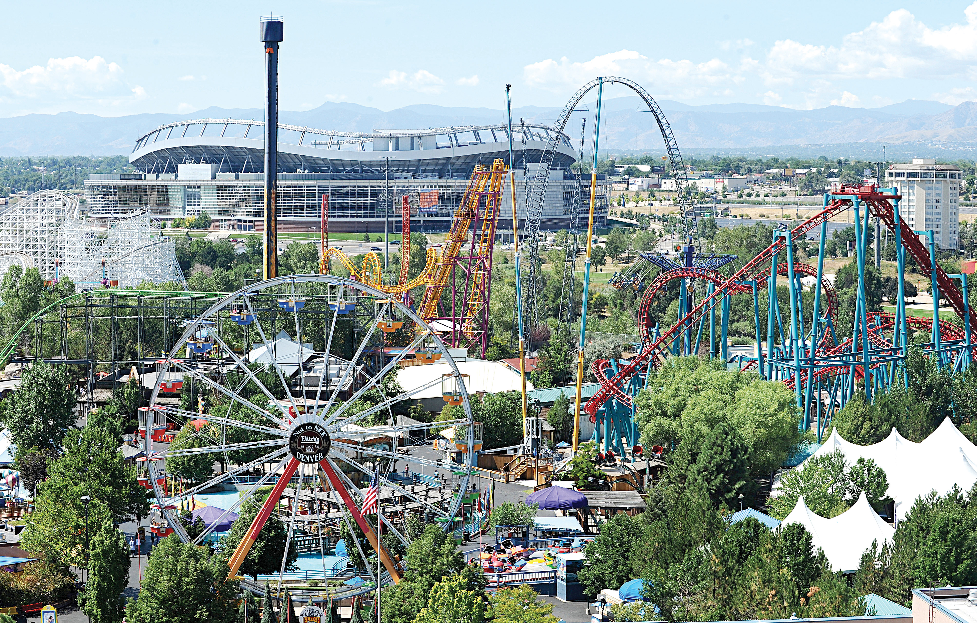 Elitch Gardens and Stadium at Mile High
