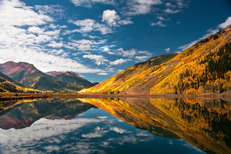 Lake near Evergreen