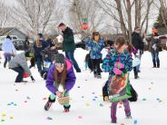 Easter Egg Hunt in Mead