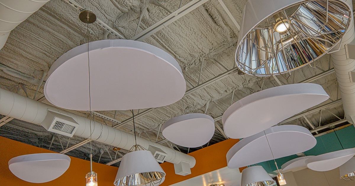Interior of Cafe Gelato