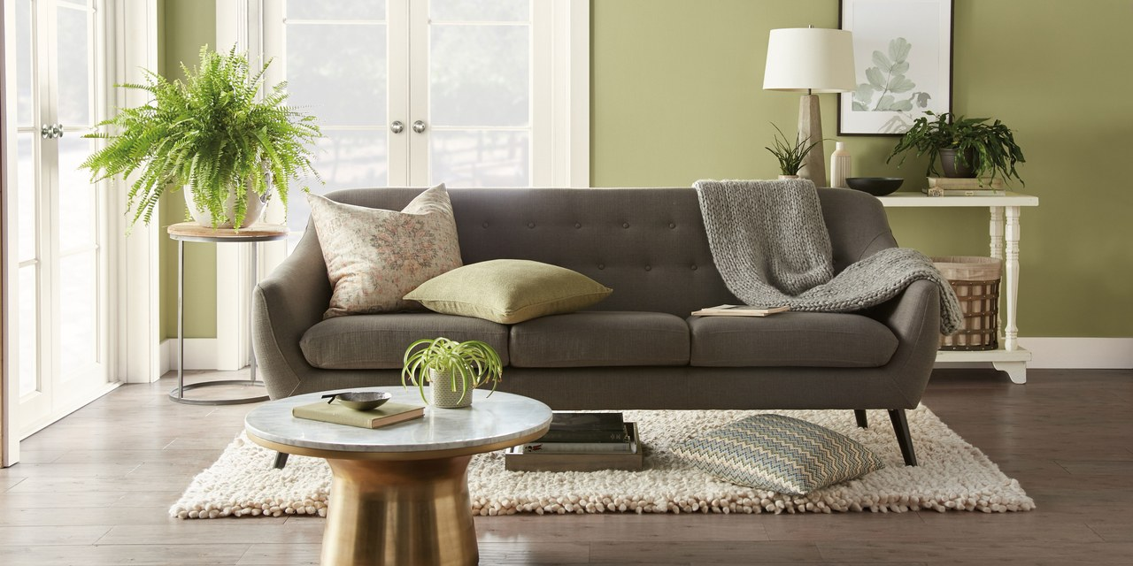 Behr Paint 2020 Color of the Year Living Room