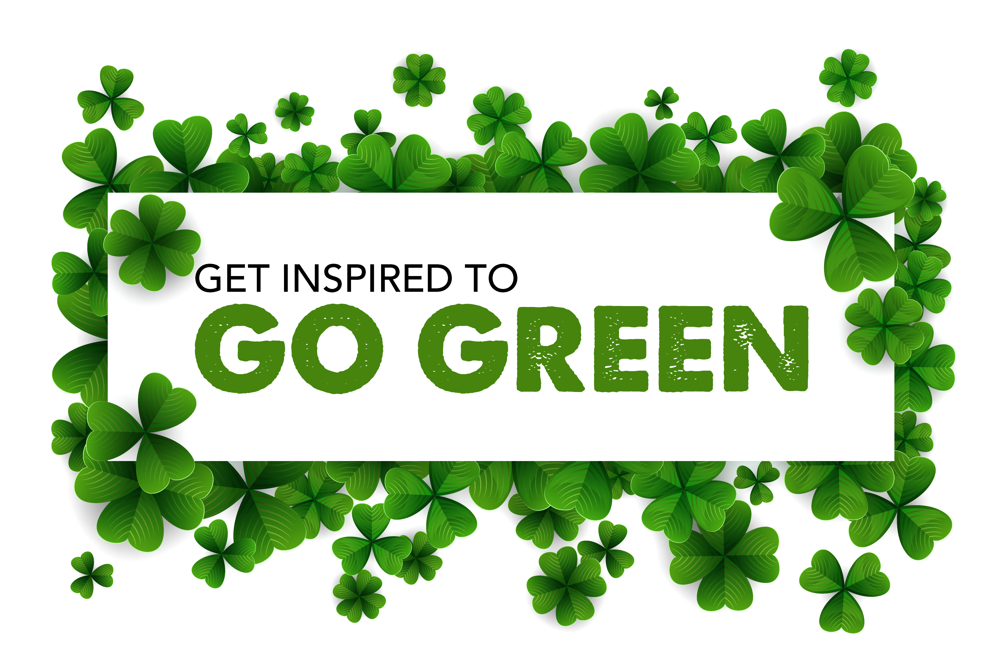 Go green at home for St. Patricks Day