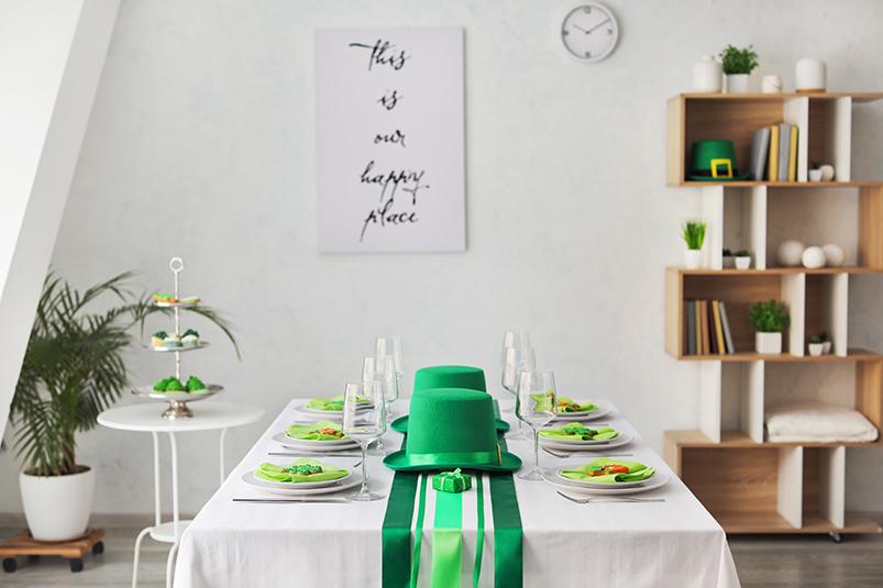 St Patricks Day At Home