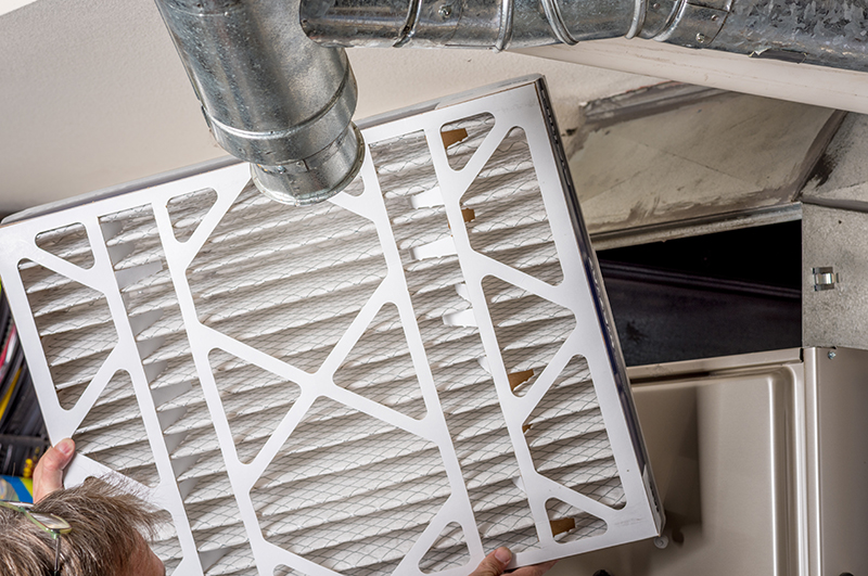 Change HVAC filters to keep house running efficiently