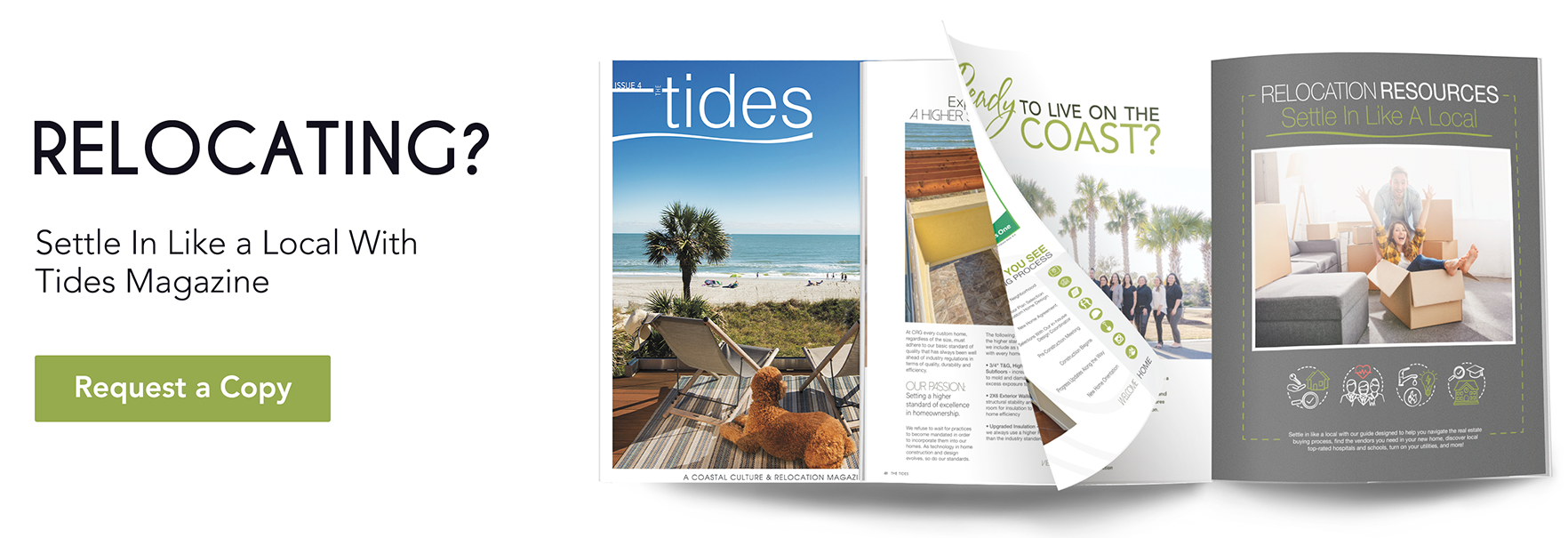 Request a copy of the Tides Magazine