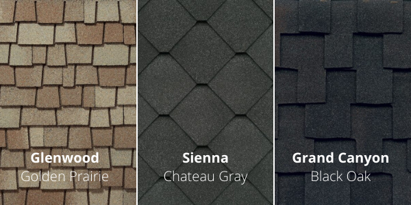 Roof Shingle Variations