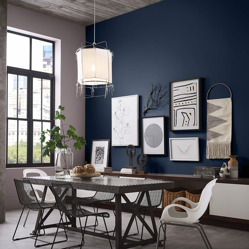Sherwin Williams Naval Color of the year 2020