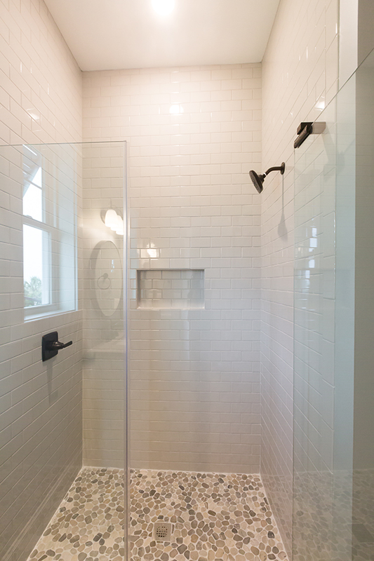 Bodmer master subway tile shower