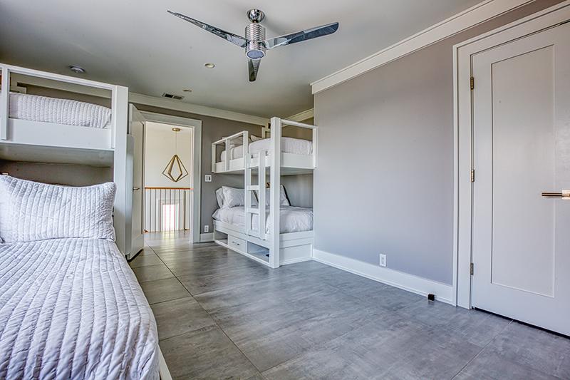 Third Floor bunk room for children