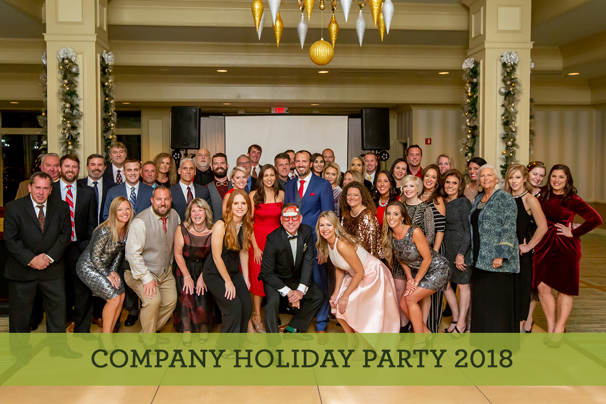 CRG Company holiday party 2018