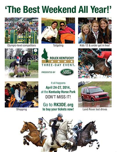 Rolex Kentucky 3 Day Event
