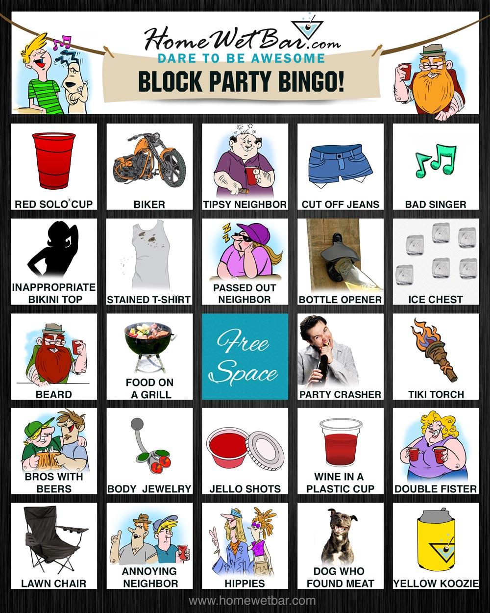 8. Tailgate Bingo