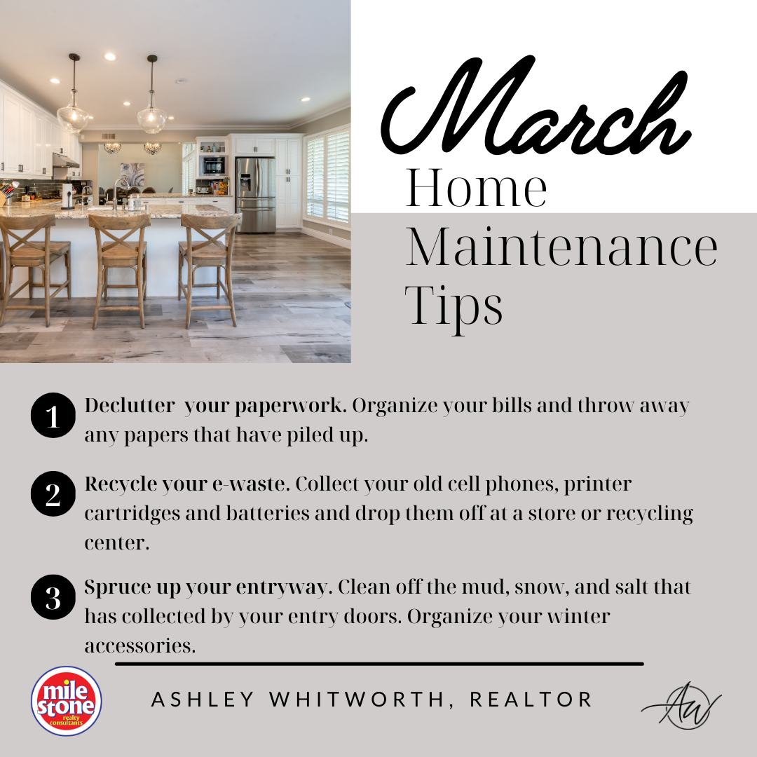March 2021 Home Maintenance Tips