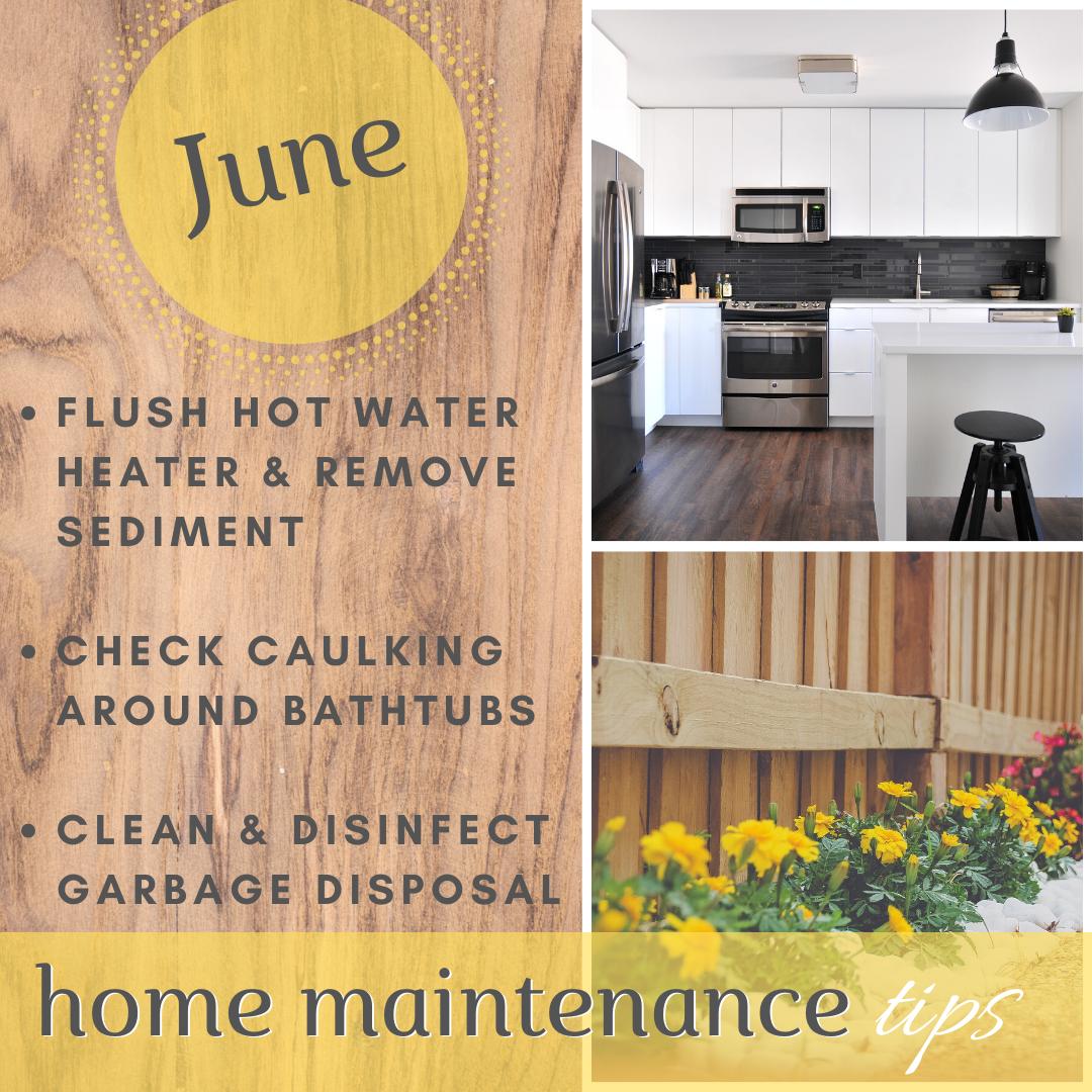 June 2020 Home Maintenance Tips
