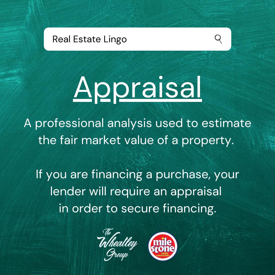 Real Estate Lingo