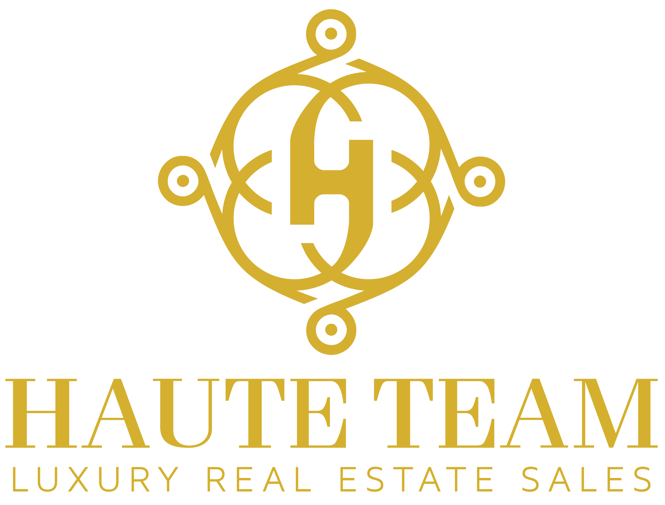 Haute Team Luxury Real Estate Logo