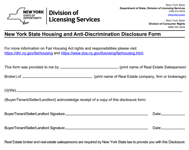 Fair Housing Notice Print Page 2