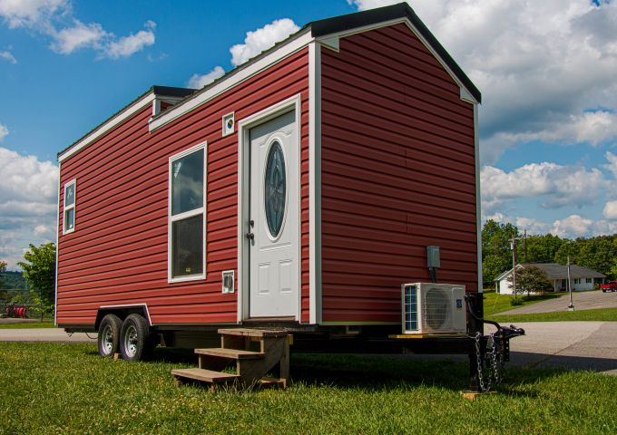 Red Tiny House