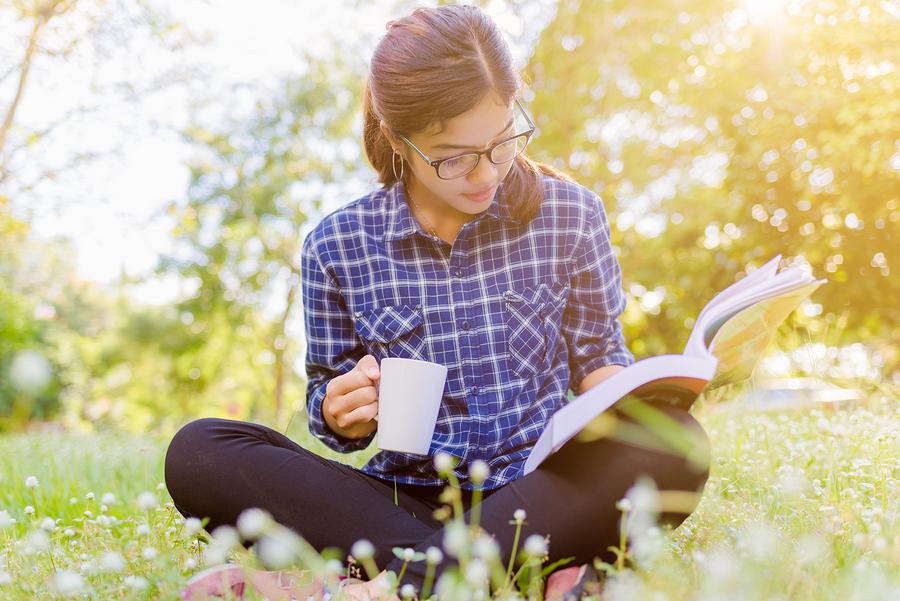Bon Air Library's Reading Garden