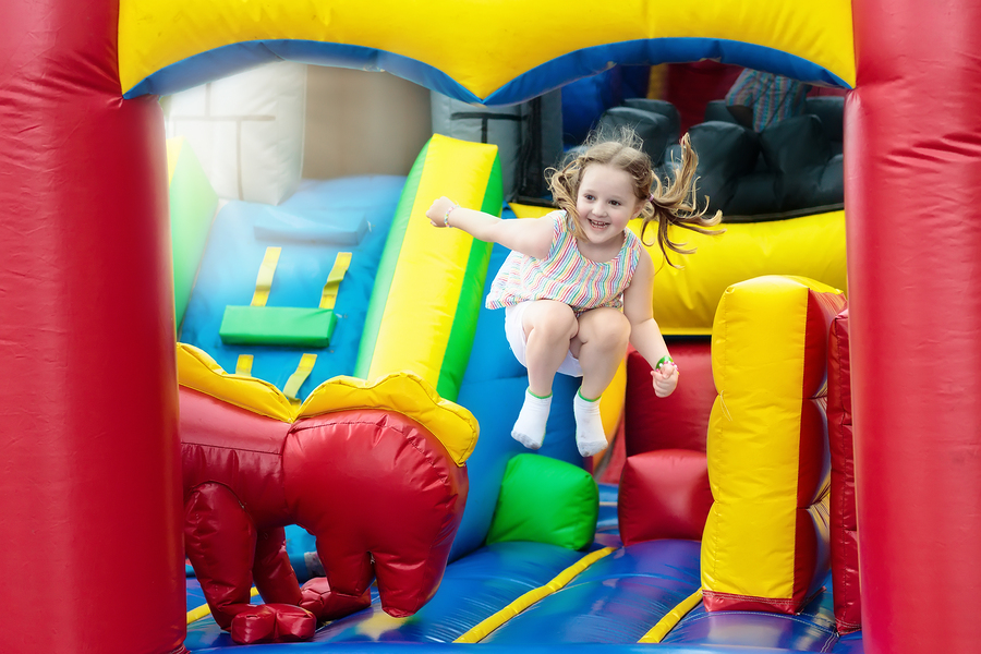 Bounce Around at Open Play Day at Bounce 'N Round Inflatables August 6