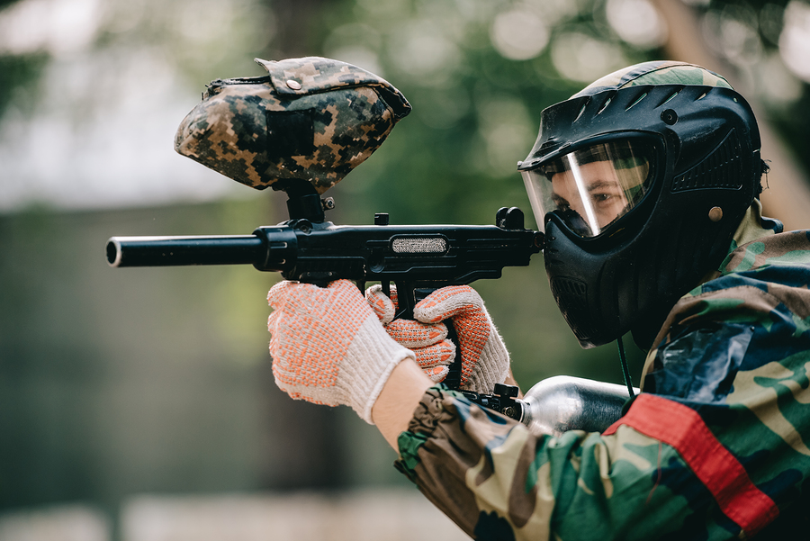 Play in a Paintball Battle Royale at the Paintball Asylum June 15